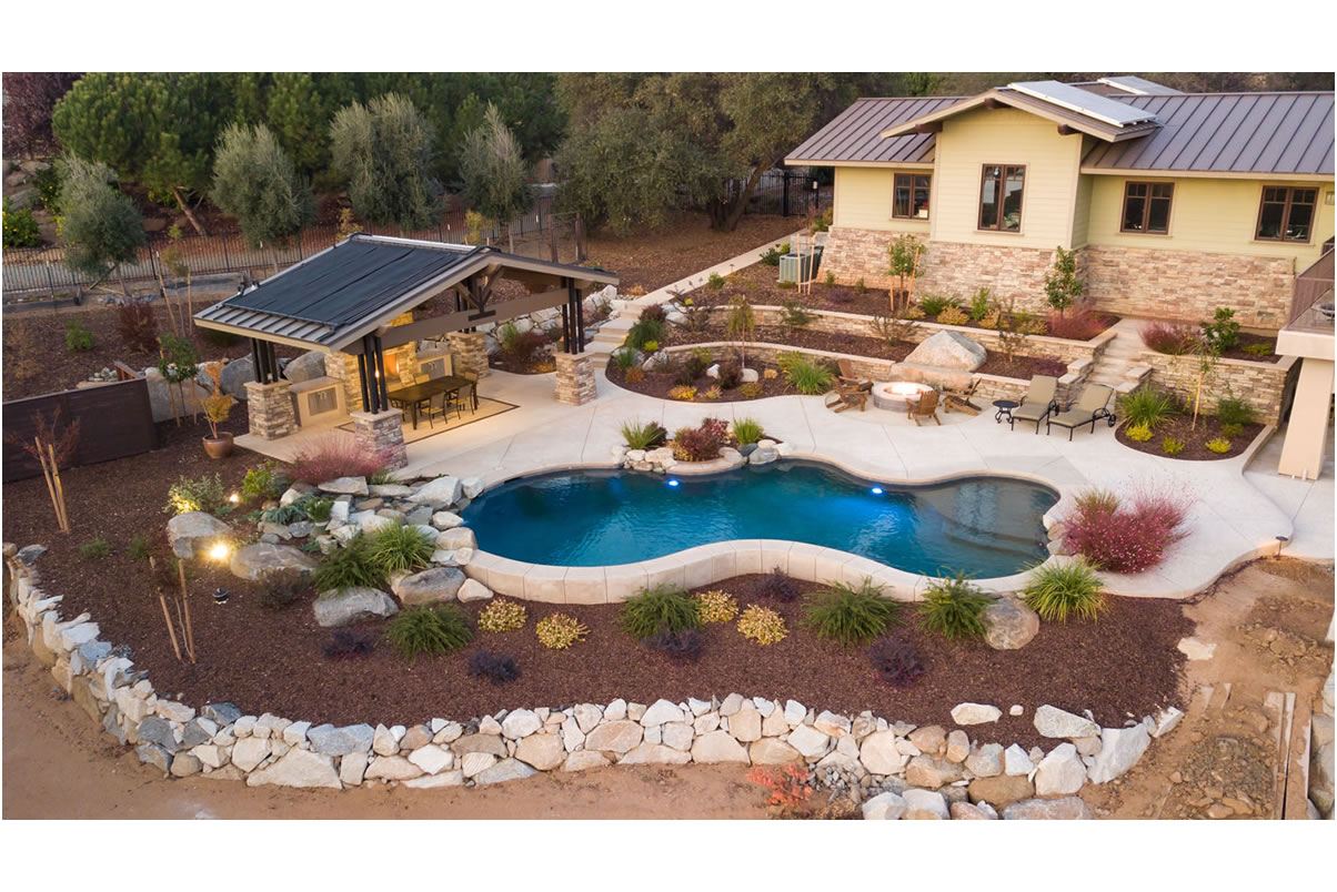 Sacramento Pool Builder after Construction