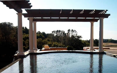 Sacramento Pool Builder gallery Structures & Hardscapes
