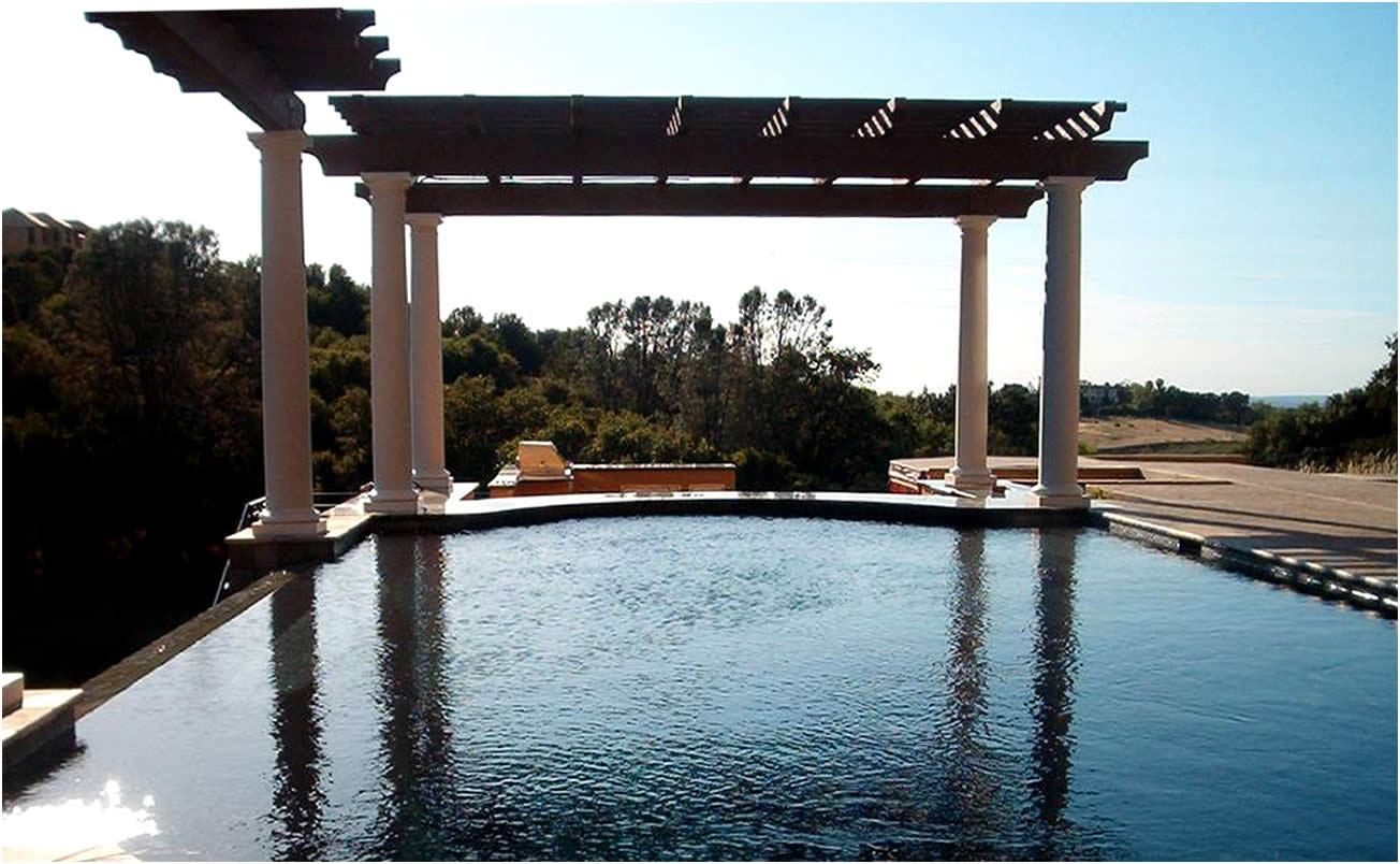 Hardscapes And Structures Gallery Of Sacramento California Swimming Pool Designer Sacramento